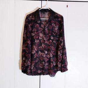 5/$25 Rock Republic xl sheer blouse